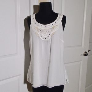 WHMB Embroidered/Embellished Tank/Cami Top 8